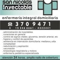 INYECTABLE SAN NICOLAS 24HS