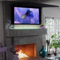 Mirror tv new york - Frame & Hidden Television