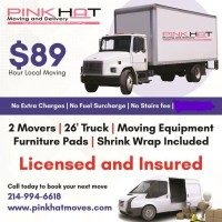 Pink Hat Moving and Delivery
