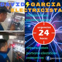 ELECTRICISTA DAVID GARCIA - URGENCIAS LAS 24hs¡¡¡LA PLATA