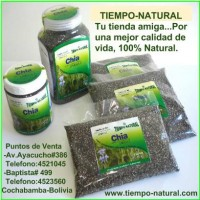 TIEMPO NATURAL:SEMILLAS DE CHIA