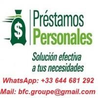 SOLUCIÓN PARA SU NECESIDAD DE DINERO WhatsApp +33 644 681 292