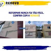 Reforma Predial Limpeza de Fachada em Belo Horioznte