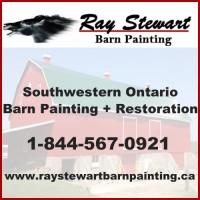Ray Stewart Barn Painting