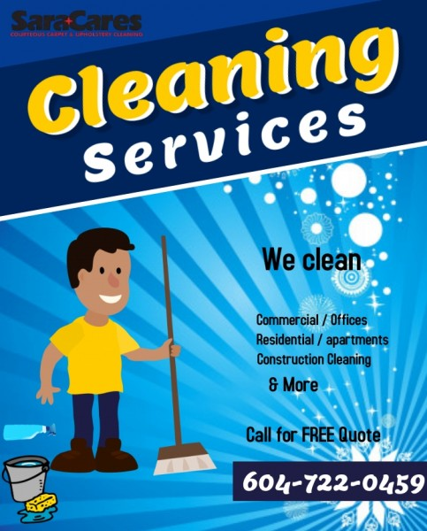 SaraCares Carpet & Upholstery Cleaning
