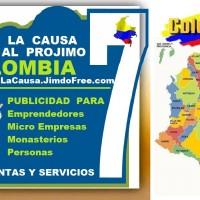 ⭐ APOYA LA CAUSA Ayuda Al Projimo Colombia Hacemos Publicidad A Rosarios Escapularios Virgenes Santos Angeles Toboganes Cascadas Fuentes Pi