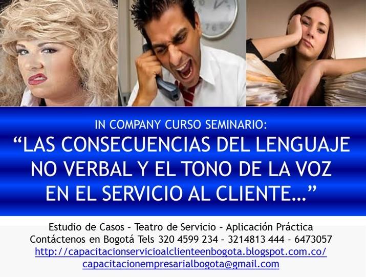 Cursos de Servicio al Cliente Seminarios Bogotá