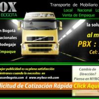 Mudanzas en Bogota - Mybox Bodegas