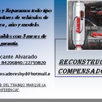 Reparación de compensadores HYD.