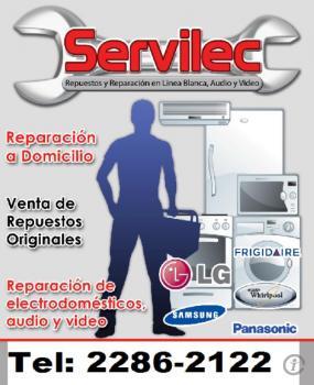Servilec, Reparacion De Lavadoras, Refrigeradoras,