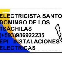 ELECTRICISTA SANTO DOMINGO DE LOS TSACHILAS (+593)986922235 EPI INSTALACIONES ELECTRICAS