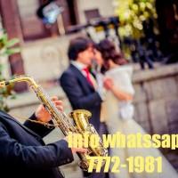 Saxofonista de musica moderna
