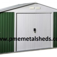 Sell Metal Garden Sheds Apex Roof Pent Roof Outdoor Storage