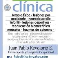 FISIOCLINICA - FISIOTERAPIA- / FT.PABLO REVOLORIO