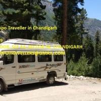 Best Luxury Tempo Traveller Chandigarh