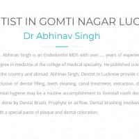 Dr.Abhinav Singh - Best Dentist in Lucknow