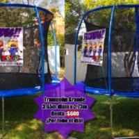 Renta de Juegos Inflables, Trampolines y Futbolitos Pogo