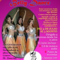 Clases de Danza arabe DANZADY belly dance tlaxcala