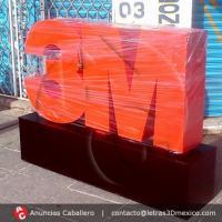 Anuncios Caballero | Letras 3d Mexico