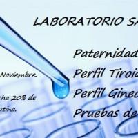PRUEBA ADN, LABORATORIO SAN RAFAEL