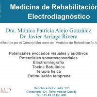 Medicina de Rehabilitación Neurodesarrollo y electrodiagnóstico