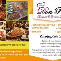 Banquete Don Polo