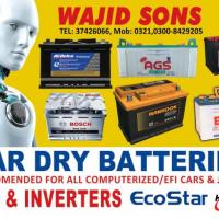Wajid Sons Car Dry Batteries