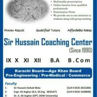 Sir Hussain Coaching Center