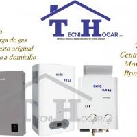 Servicio técnico de termas termo tanques*SOLE*a gas 7338618 electricas