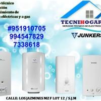 Servicio técnico mantenimiento de termas a gas JUNKERS 920247401 en lima
