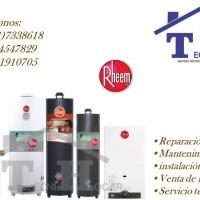 Servicio técnico de termas a gas termo tanque RHEEM 7338618