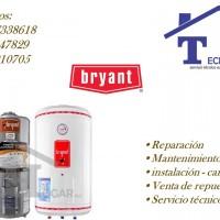 Servicio técnico de termas a gas eléctricas BRYANT 7338618 reparacion