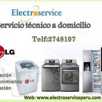 Servicio técnico reparación de lavadoras secadoras LG TROMM mantenimientos