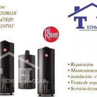 Servicio técnico de termo tanques RHEEM Servicio técnico Termas Rheem TECNIHOGAR M&F SERVICIO TECNICO AUTORIZADO RHEEM 01 410-8759 *En nuestra emp