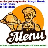 Comidas Empresariales Arroyo Hondo