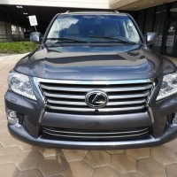 GULF USED 2014 LEXUS LX 570 FOR SALE