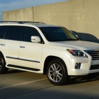 White 2014 Lexus LX570 Full Option Available For Sale.