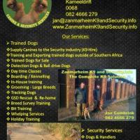 Zanmarheim K9 & Security Services