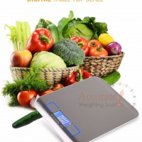 accurate bakery digital kitchen scales