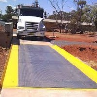 Checkered plate or 10mm plain plate weighbridge supplier in Uganda