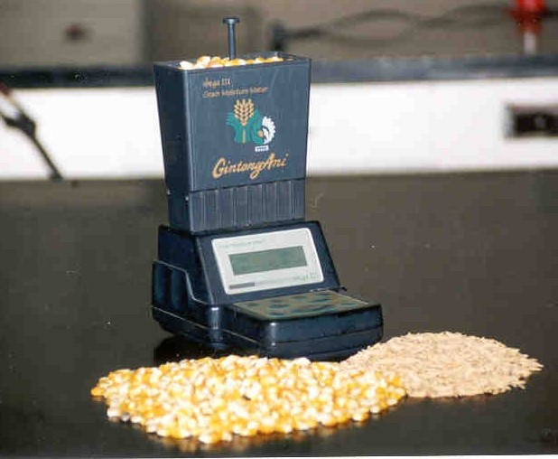 Moisture Temperature Tester at Eagle Weighing Systems in Kampala