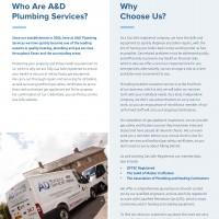 A&D Plumbing Services
