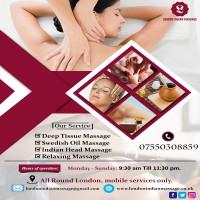 Mobile Massage Therapist | London Indian Massage