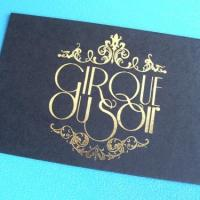 FOIL PRINTERS LONDON. Business Cards. Telford Foil Print.