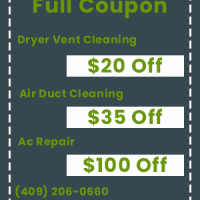 Dryer Vent Cleaning Texas City TX