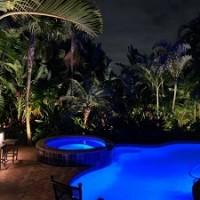 Sunset Vibes Luxury Landscape Lighting And Audio