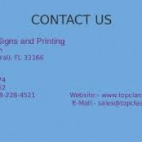 Top Class Signs and Printing