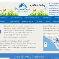 Custom Care Appliance Repair Newport Beach