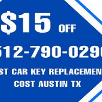 Lost Car Key Replacement Cost Austin TX