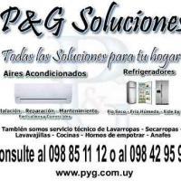 PyG Soluciones - Lavarropas, Heladeras, Aire Acondicionado